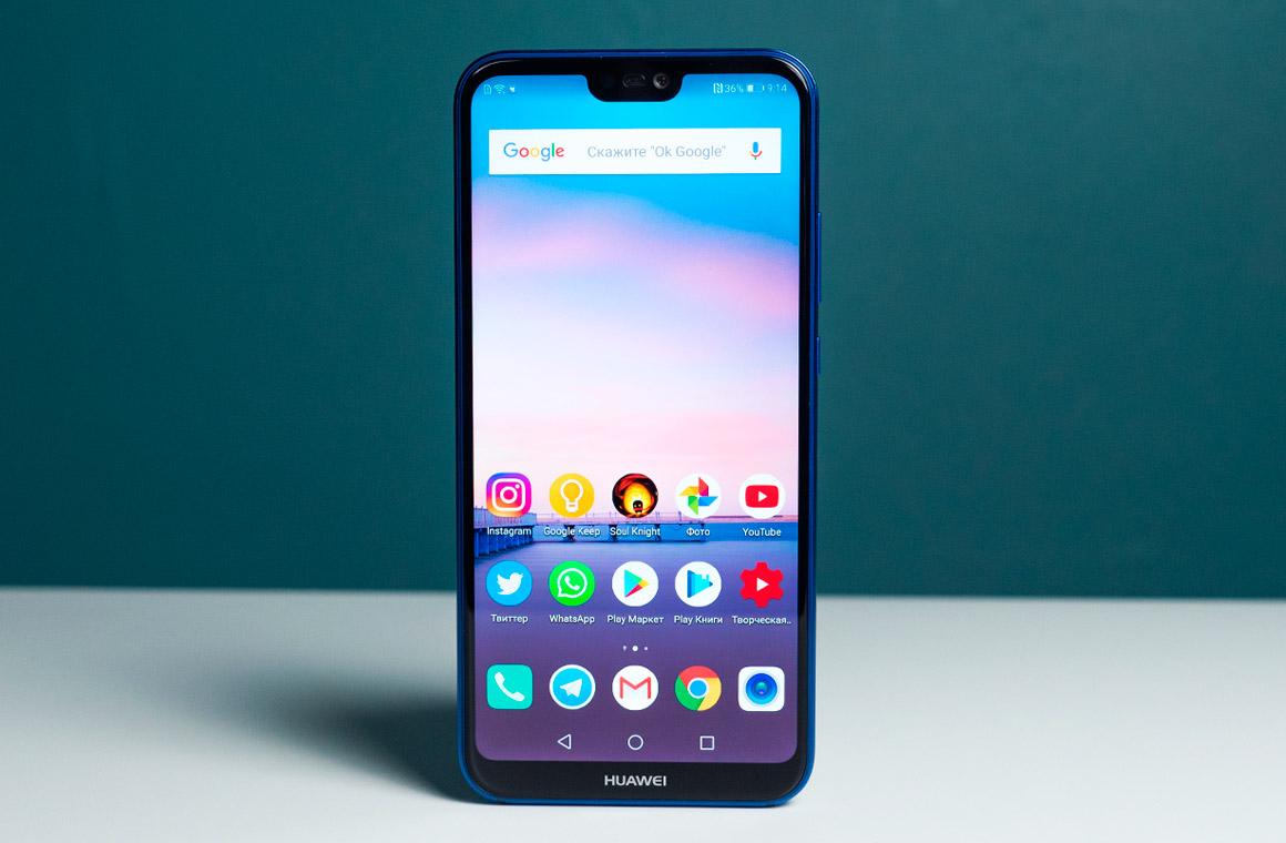Чем хорош смартфон Huawei P20 Lite