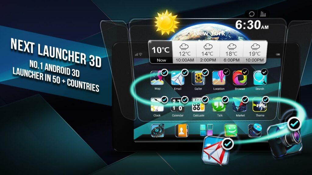 Next Launcher 3D